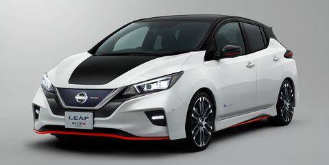 2018 Nissan Leaf Nismo Photos Info On The Electric Leaf Nismo
