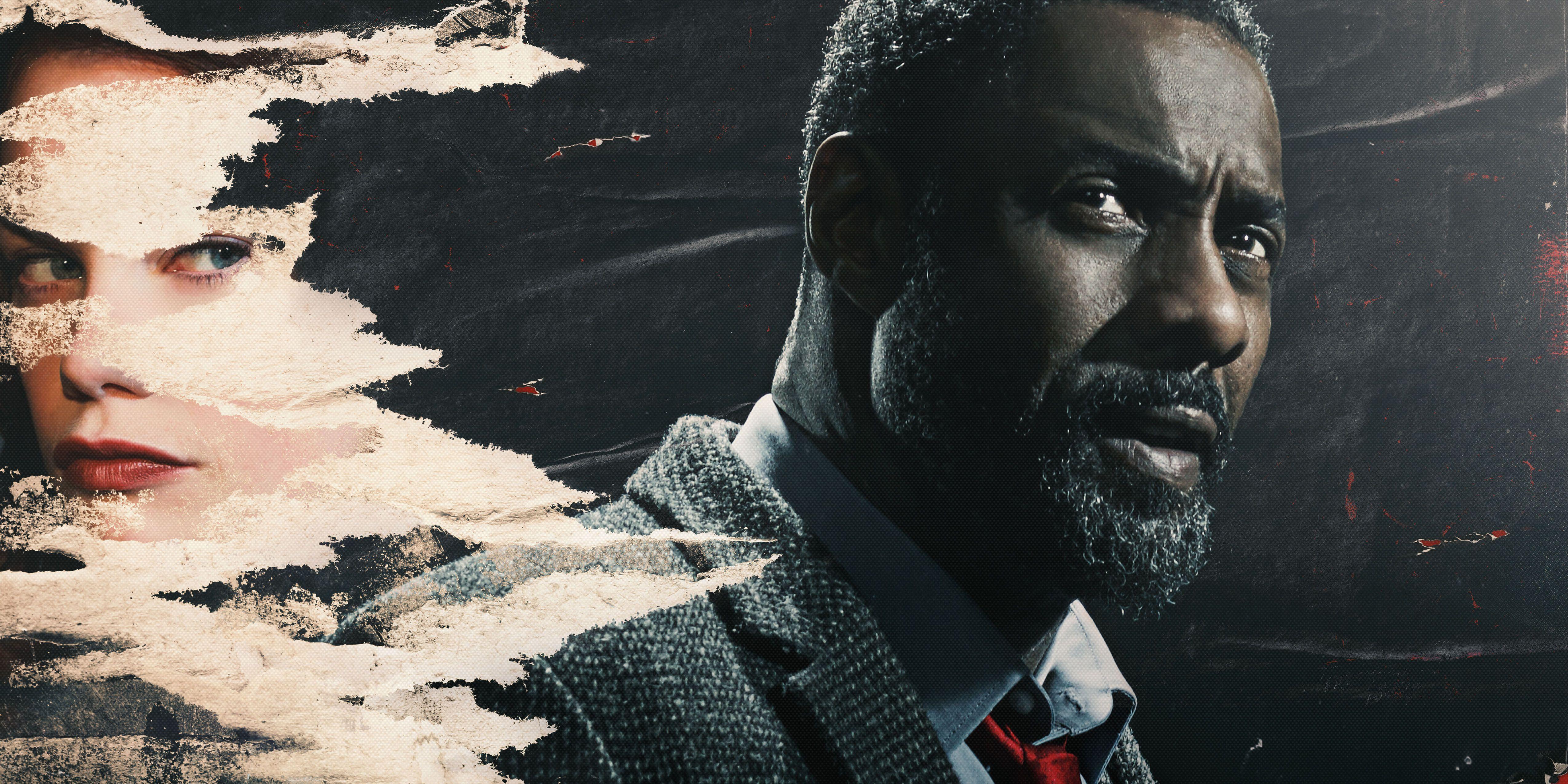 Idris Elba and RuthWilson