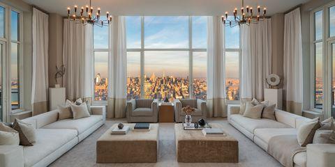 Living room, Room, Property, Interior design, Furniture, Building, Ceiling, Wall, Home, Real estate,