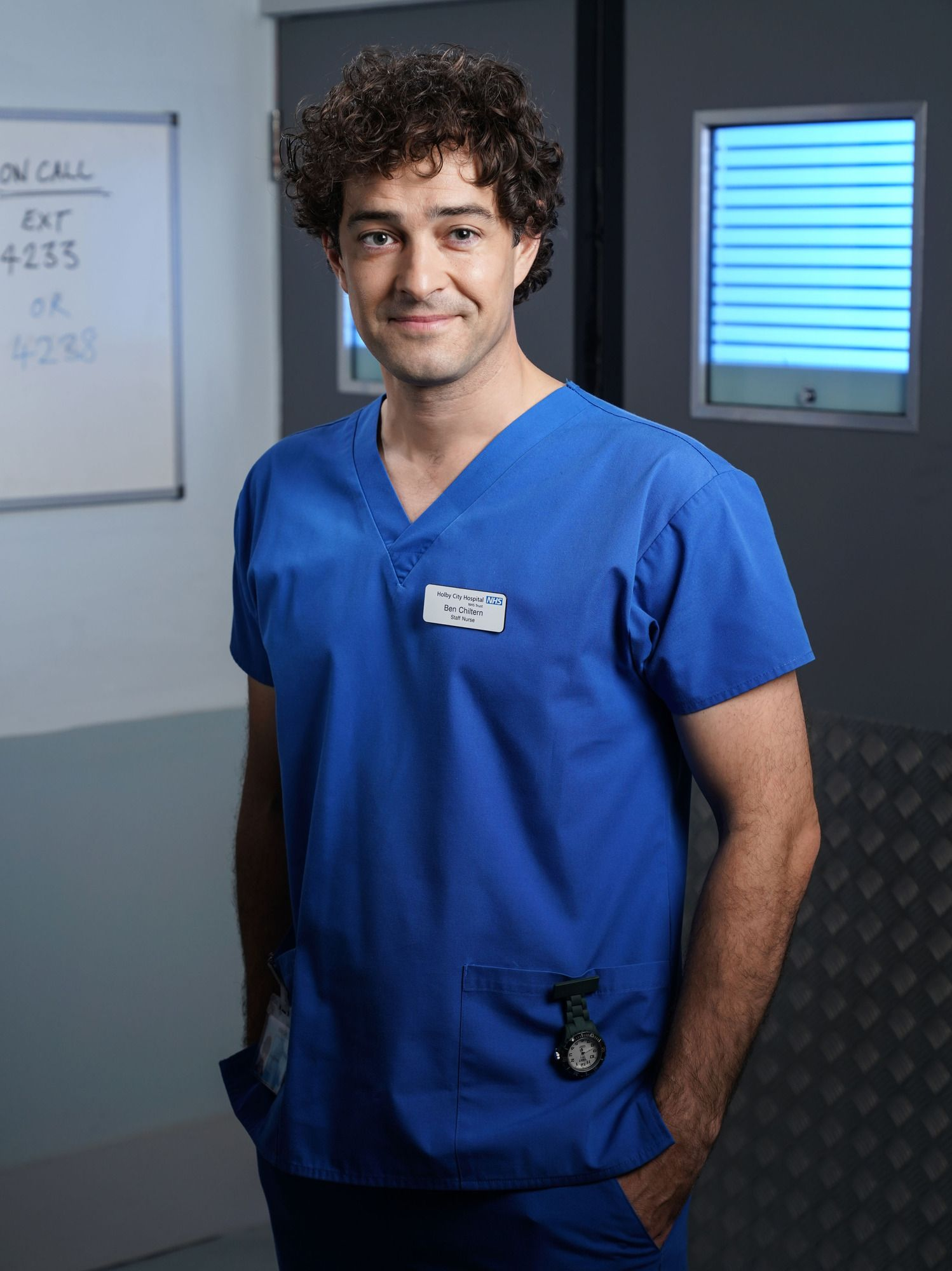 Holby City exit confirmed for Lofty Chiltern as Lee Mead bows out