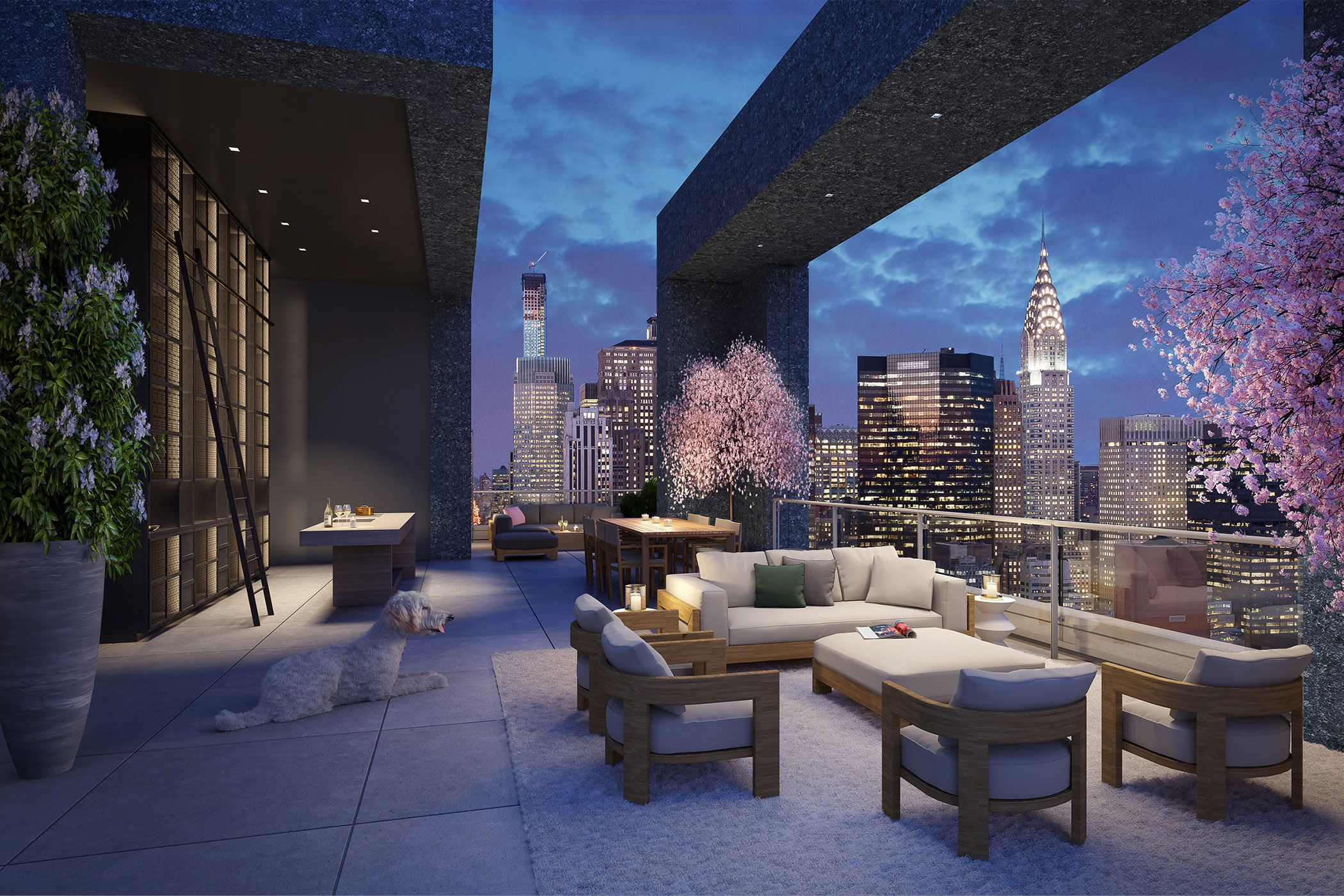 This is What The Most Expensive Penthouse Home in NYC Looks Like