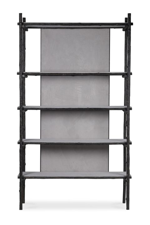 Shelf, Shelving, Furniture, Bookcase, Table, Ladder, Metal,
