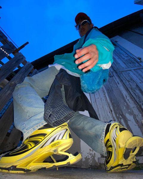 巴黎世家再推話題潮鞋!balenciaga全新x pander高彈運動鞋讓老爹鞋時髦增高