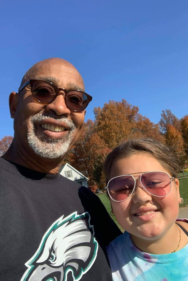 domonic franklin and his granddaughter