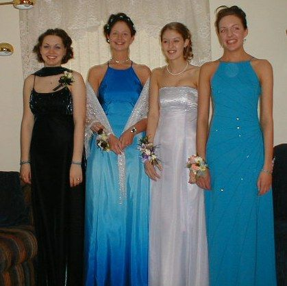 Prom Dresses Through the Years - Evolution