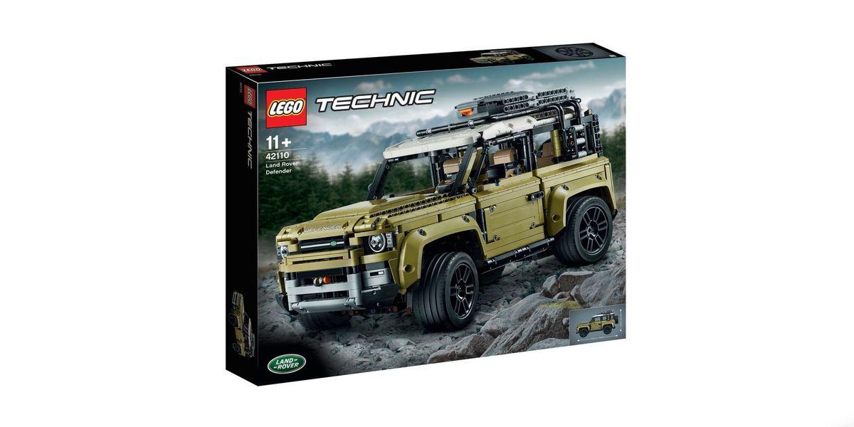 2020 Land Rover Defender Lego Technic Kit Leaks Online
