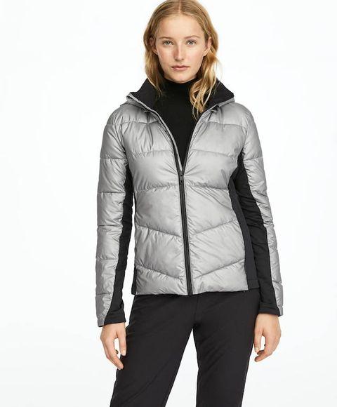 Oysho Silver Ski Jacket