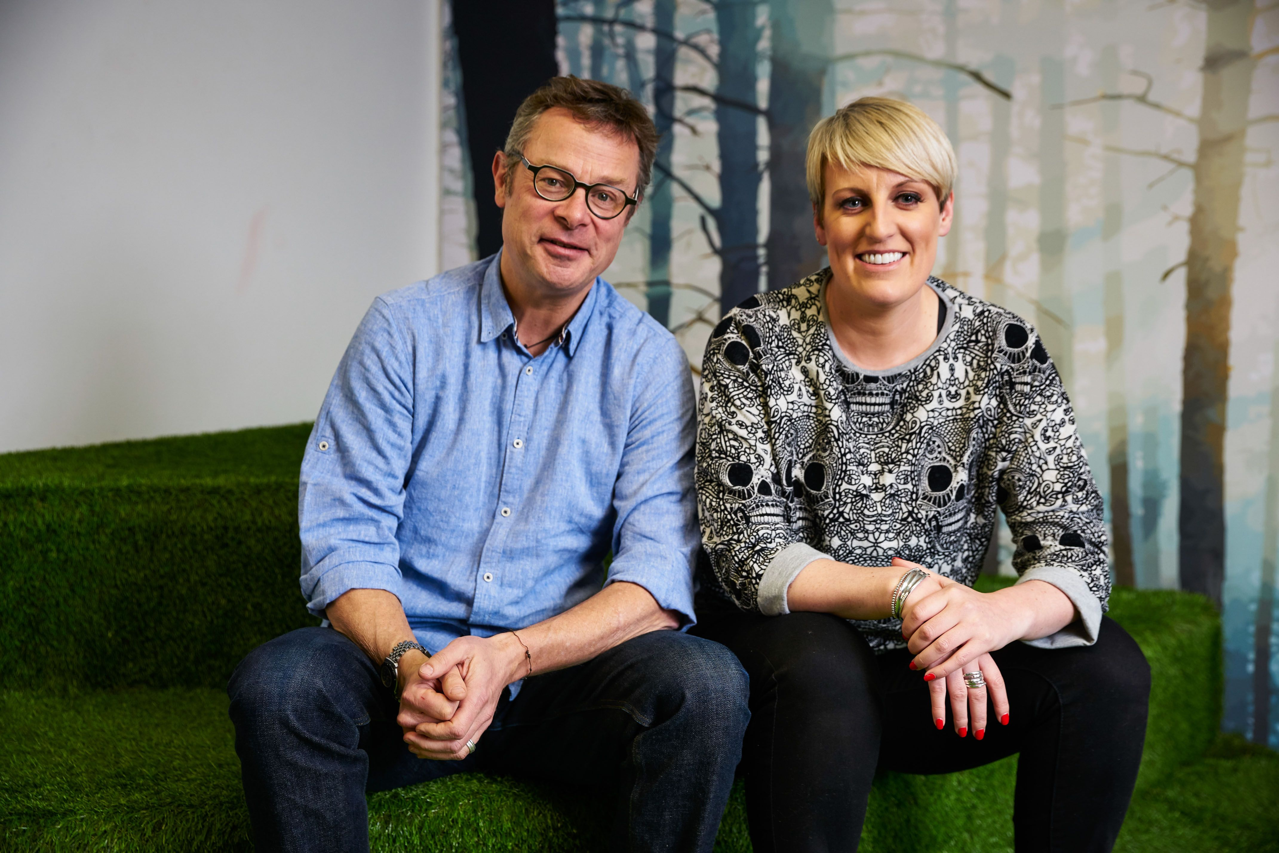 Steph McGovern teams up with Hugh Fearnley-Whittingstall for Easy Ways To Live Well