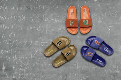 the latest 186e0 f999a Fenty x Puma Slides - The New Sandals from Rihanna's Spring ...