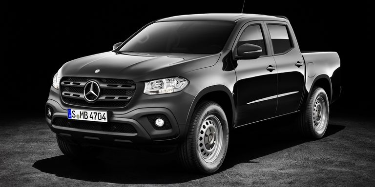 mercedes x class details confirmed 2018 mercedes benz pickup truck price features. Black Bedroom Furniture Sets. Home Design Ideas