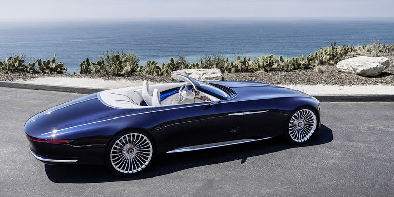 The Mercedes-Maybach Vision 6 Cabriolet Is Stunning