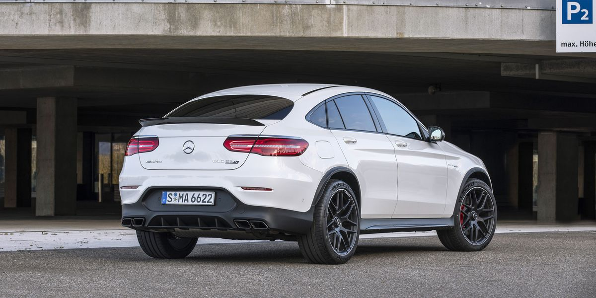 2018 Mercedes-AMG GLC63 S Coupe: The Wing Says It All