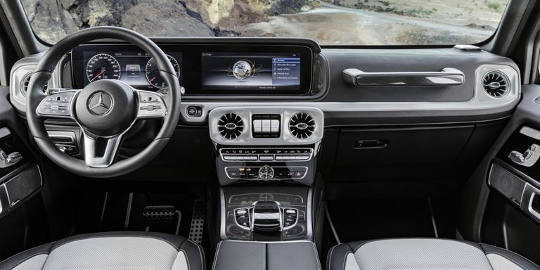 "Mercedes Benz G Wagon 2017 >> 2019 Mercedes-Benz G-Class Interior Pictures Show the New Wagon is ""Strong & Robust"""