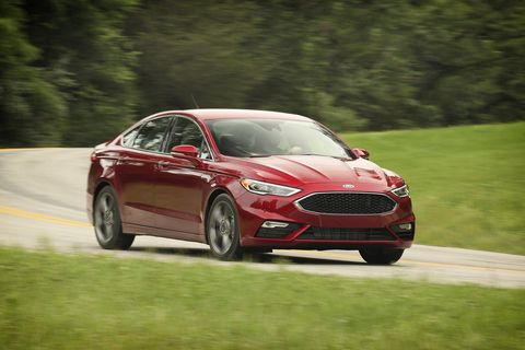 2017 Ford Fusion Sport Review - Fusion Sport First Drive