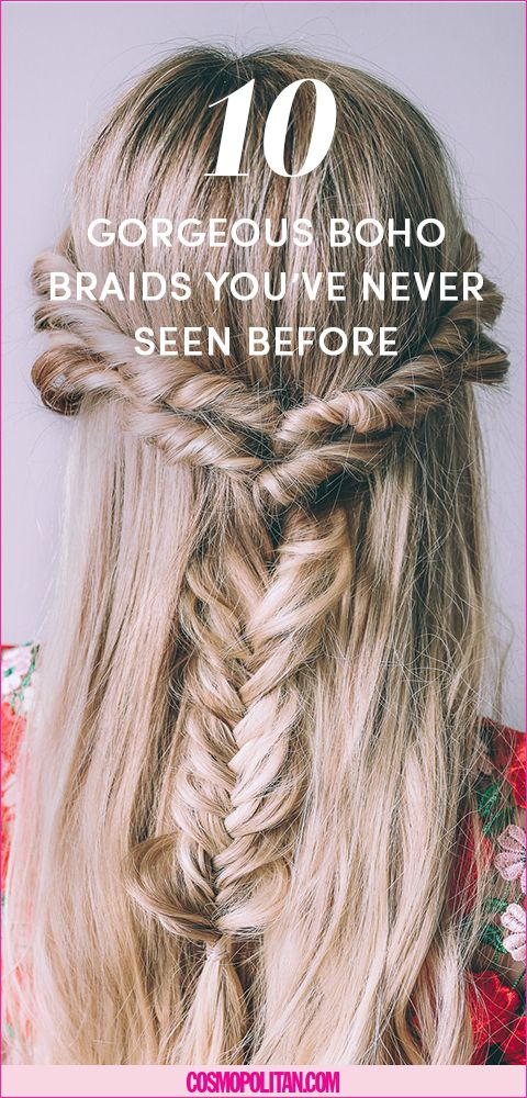 17 Messy Boho Braid Hairstyles To Try Gorgeous Touseled And Fishtail Braids