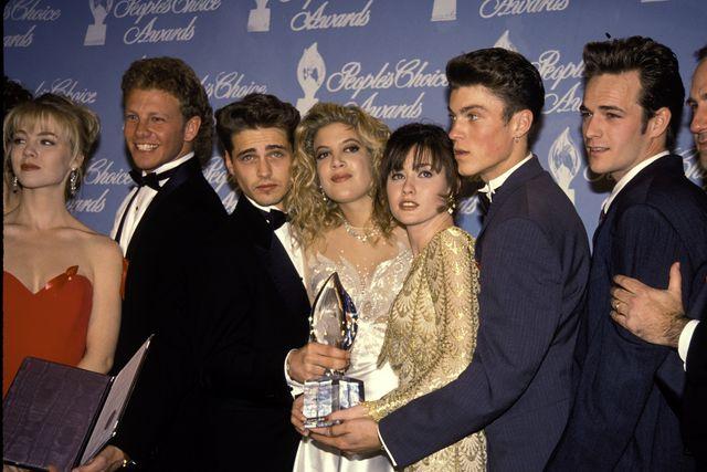 cast di beverly hills 90210 nel 1992