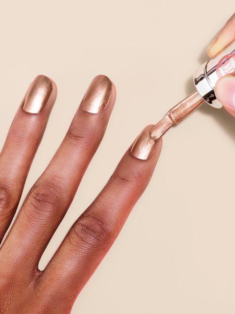 Nail, Nail polish, Nail care, Manicure, Finger, Cosmetics, Hand, Skin, Material property, Service,