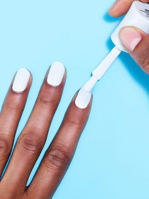 Nail, Nail polish, Manicure, Finger, Nail care, Cosmetics, Skin, Hand, Material property, Service,