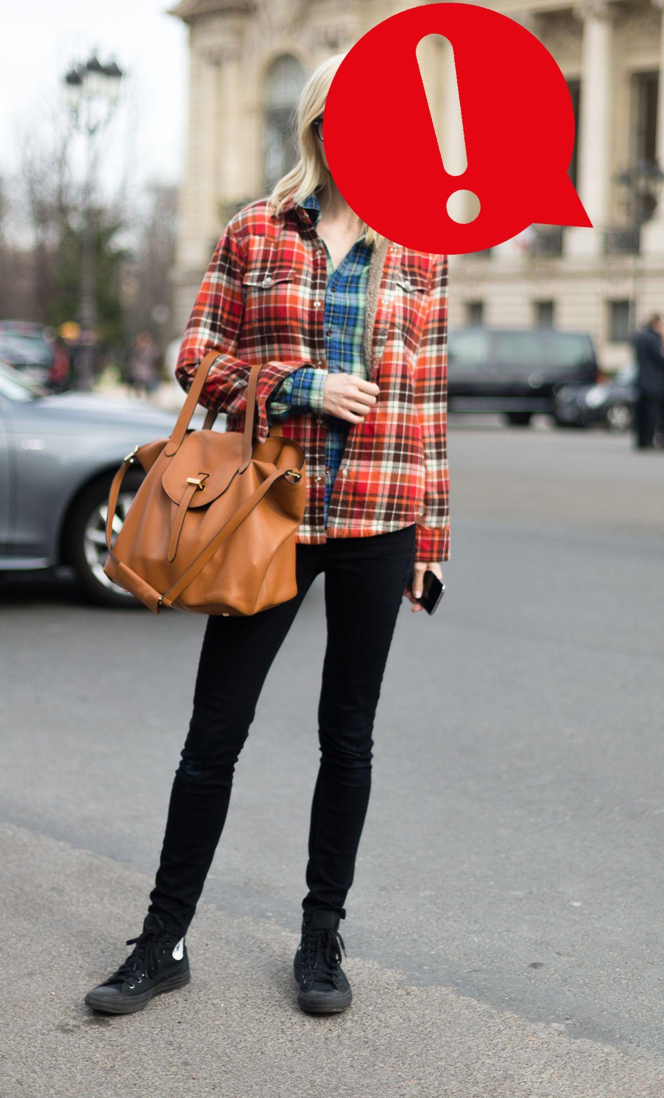Camicia a quadri: il check è cool per gli outfit inverno 2019