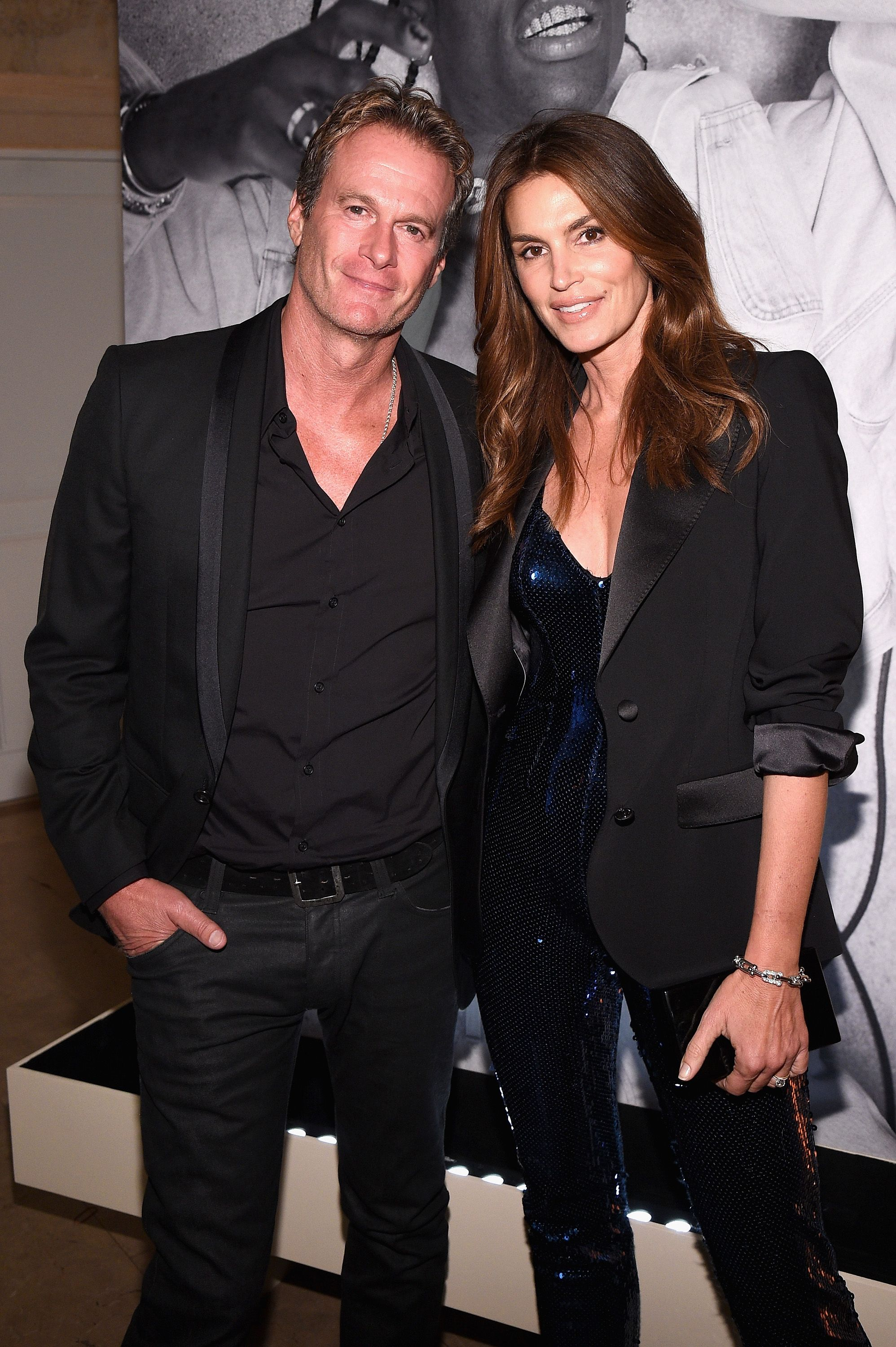 Cindy Crawford and Rande Gerber The supermodel has her agent, Michael Gruber, to thank for connecting her with her husband, Rande Gerber. When Gruber was getting married, he suggested that Crawford and Gerber be each other's dates to his big day.