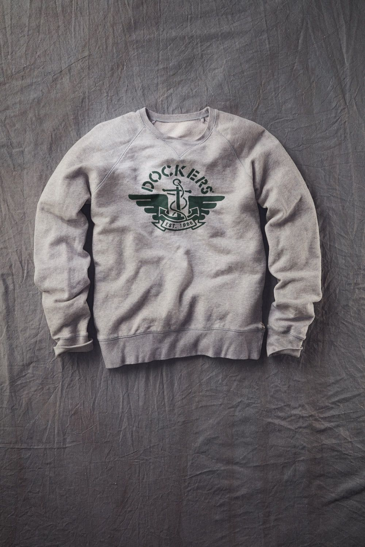 Dockers Logo Sweatshirt Sudadera para Hombre