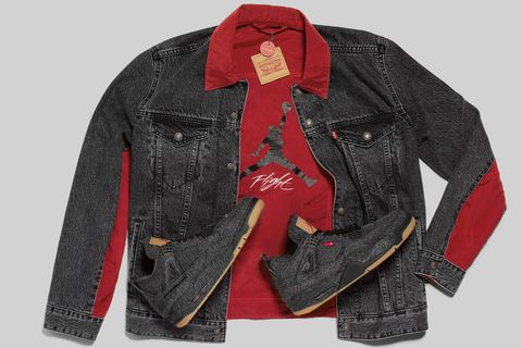 Clothing, Jacket, Outerwear, Sleeve, Denim, Textile, Fashion, Collar, Jeans, Leather jacket,