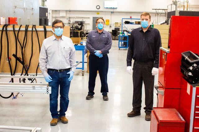 staff at ford rawsonville plant