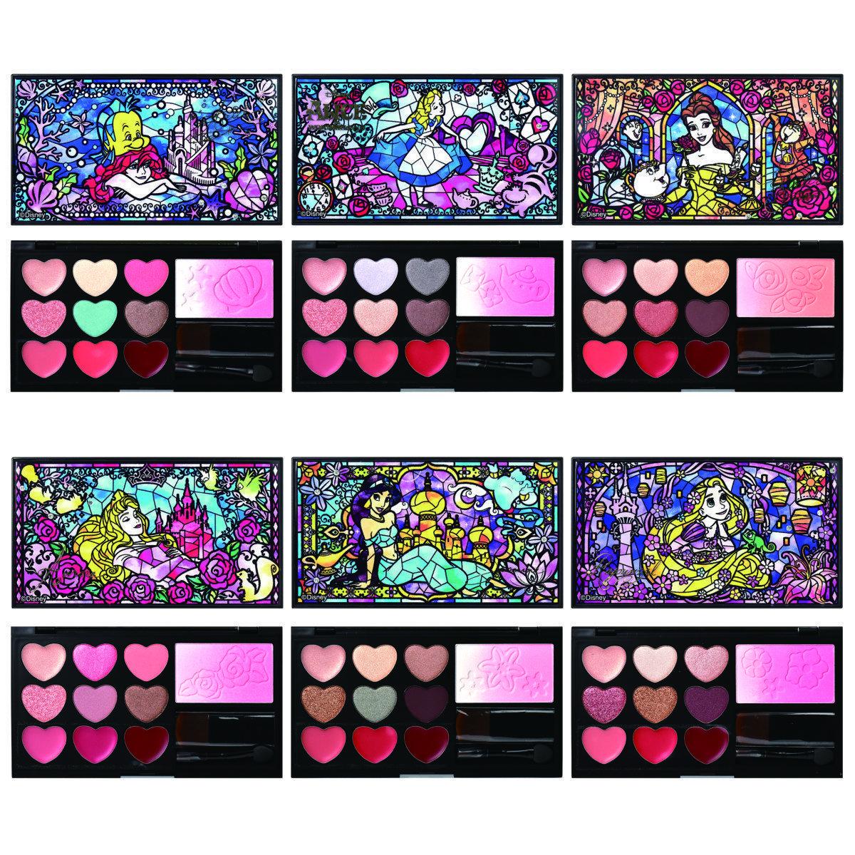 迪士尼公主,itsdemo,愛麗絲夢遊仙境,Disney,迪士尼聯名,茉莉公主,小美人魚,貝拉,makeup,beauty