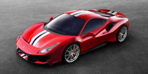Land vehicle, Vehicle, Car, Supercar, Sports car, Automotive design, Red, Coupé, Performance car, Race car,
