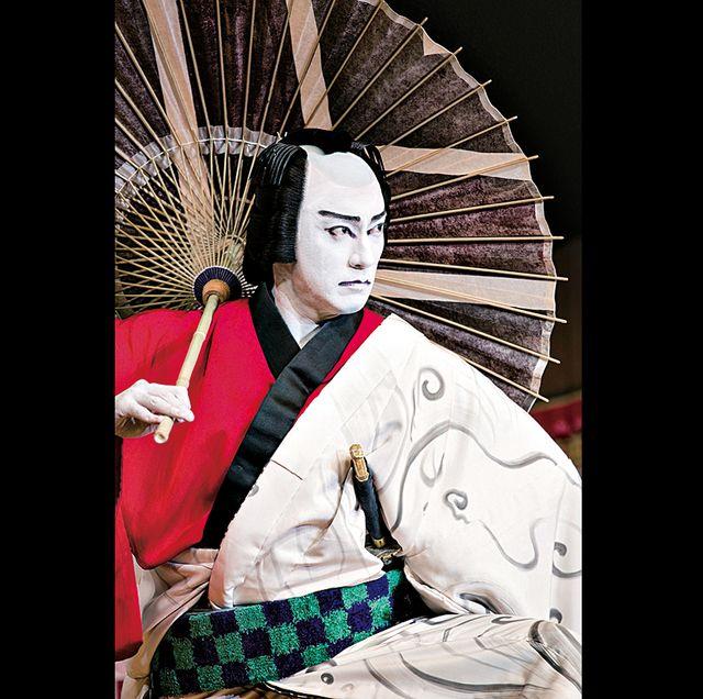 第25回 稚魚の会・歌舞伎会合同公演(右)市川海老蔵(左)