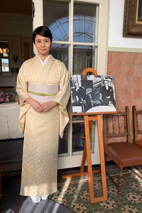 鳩山会館にて松嶋菜々子さん