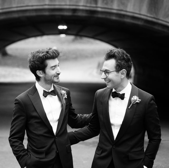 Photograph, Suit, Formal wear, Black-and-white, Tuxedo, Snapshot, Standing, Monochrome photography, Photography, Dress,