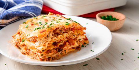 Dish, Food, Cuisine, Ingredient, Comfort food, Timballo, Produce, Baked ziti, Staple food, Recipe,