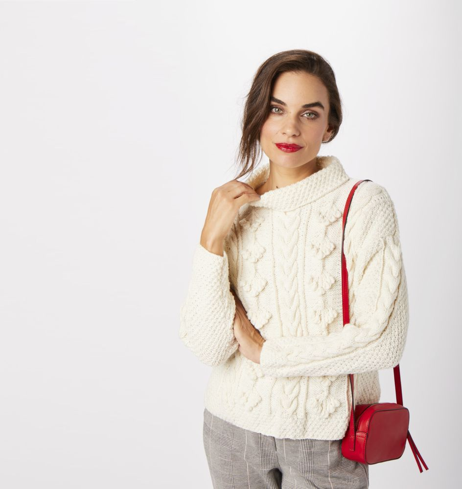 How to knit a cosy winter jumper