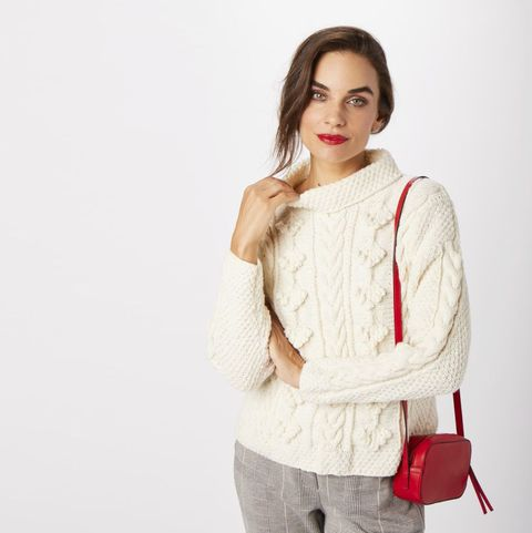 Winter jumper knitting pattern