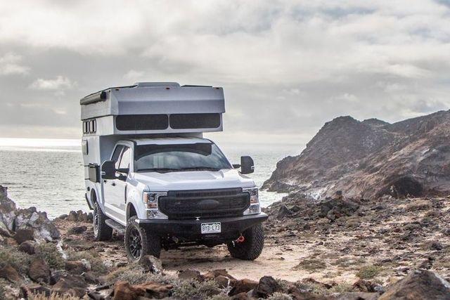 rossmonster truck camper