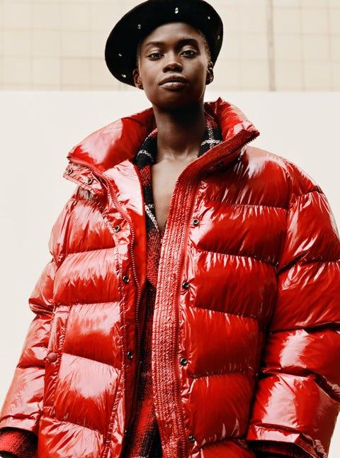 Zara abrigos acolchados