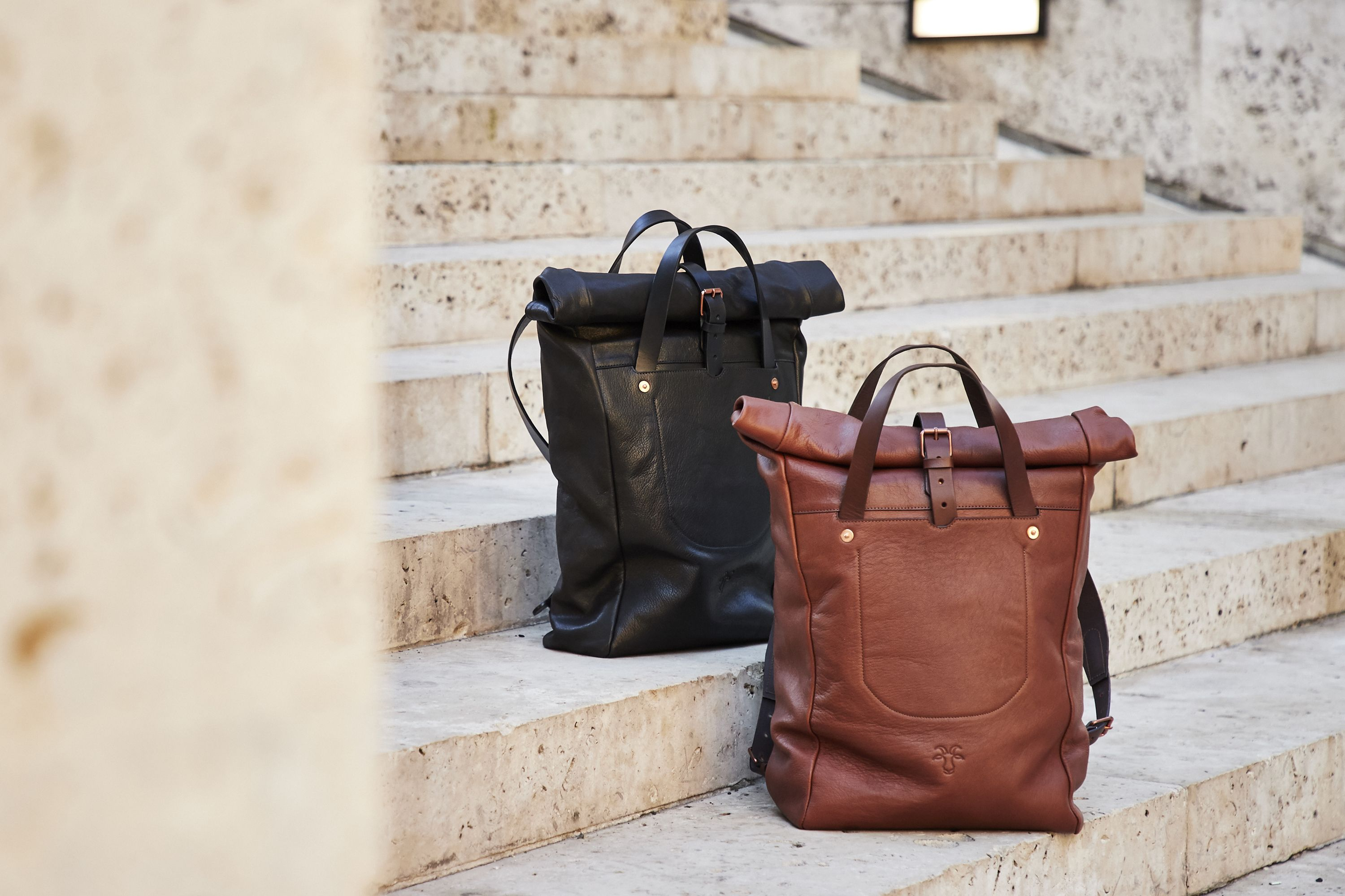 MH Obsession: Billy Tannery Goat-Leather Backpack