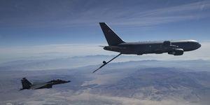 KC-46 F-15 certification test