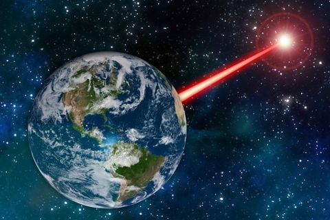 Firing a Giant Laser Into Space Could Help Find Aliens, MIT