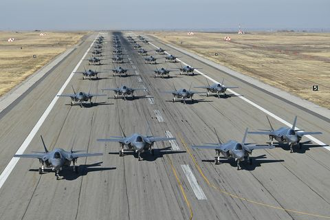 Hill Air Force Base F-35A Combat Power Exercise