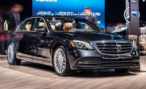 Mercedes-Benz S-class Concours - Limited-Edition Luxury Car