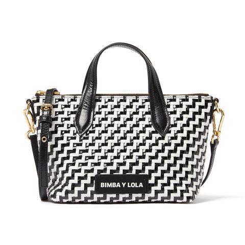 Handbag, Bag, Fashion accessory, Shoulder bag, Beauty, Tote bag, Design, Material property, Font, Luggage and bags,