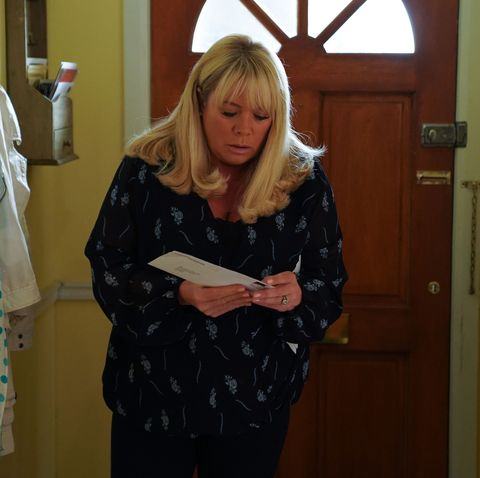 EastEnders is lining up more baby drama for Sharon Mitchell as she gets DNA test results