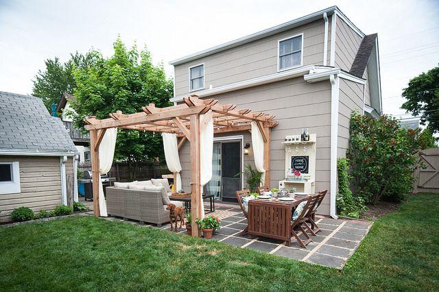 16 Best Pergola Ideas For The Backyard, Small Patio Canopy Ideas