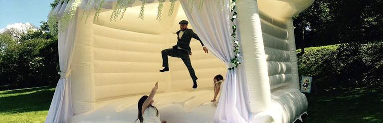 wedding bounce castle