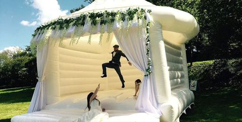 wedding bounce castle