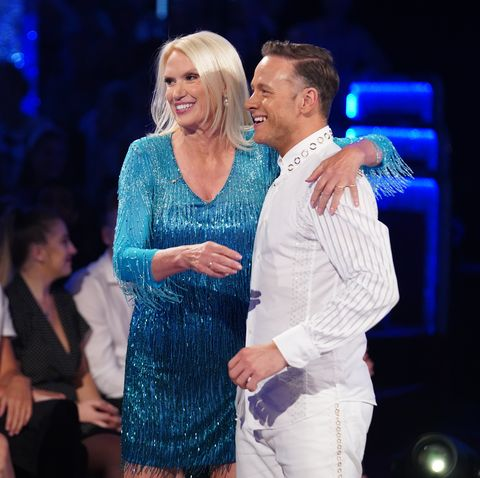 Strictly's Anneka Rice and Kevin Clifton