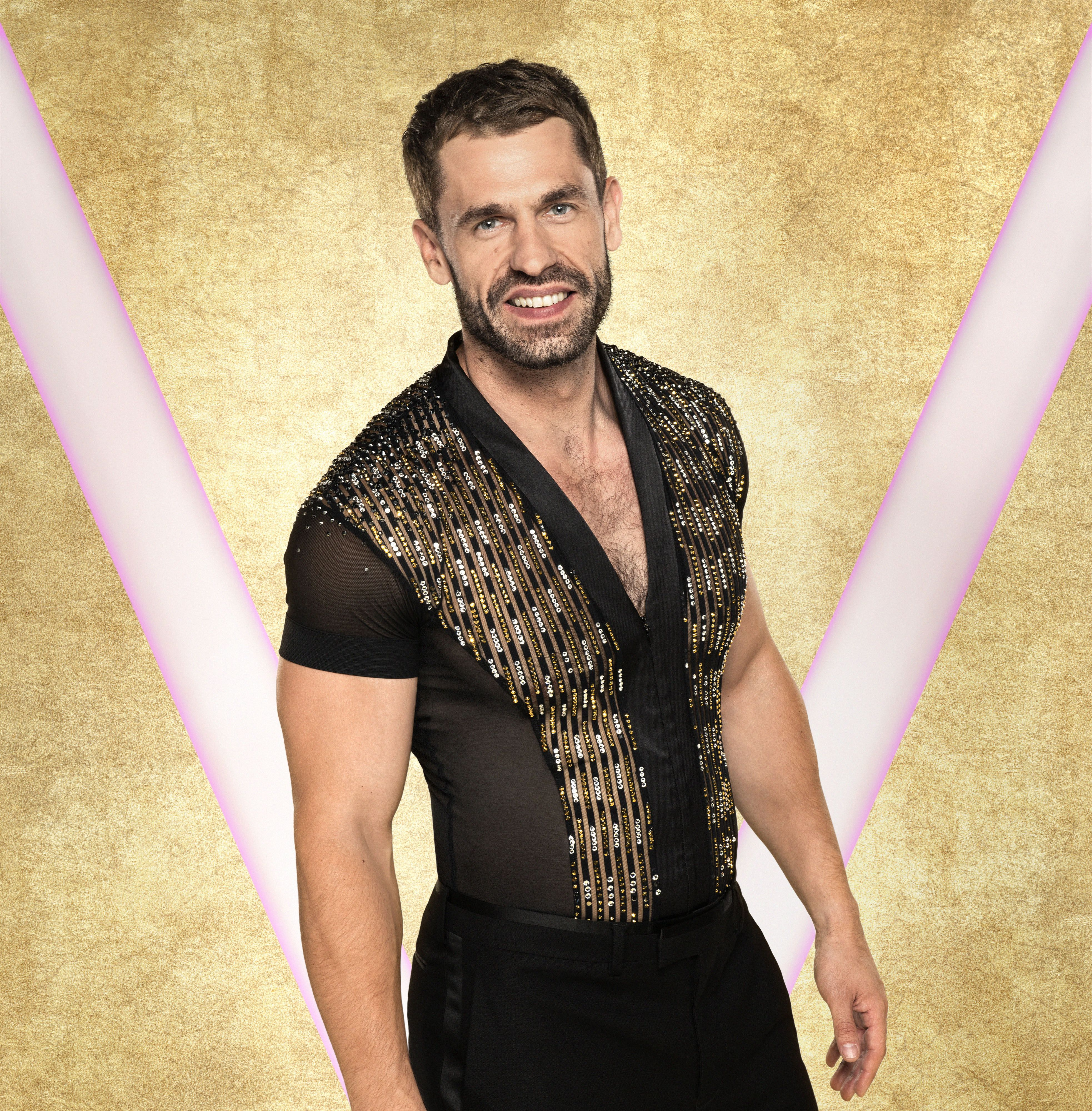 Strictly's Kelvin Fletcher is all for getting dressed up in glitter and sequins