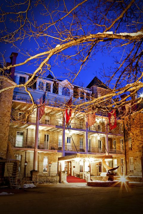 the crescent hotel in eureka springs, ark